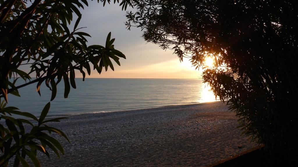 абхазия пляж
