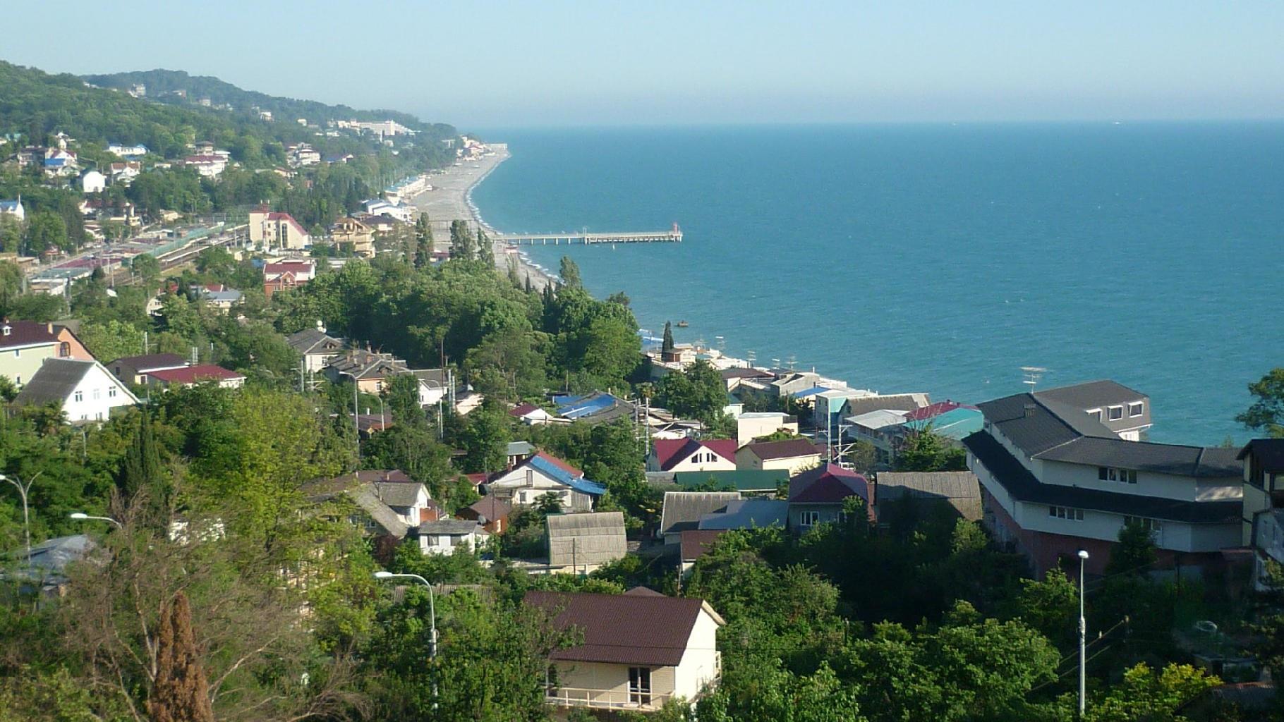 Курорт Лоо-царство пляжей и моря