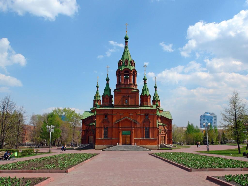 Челябинск церковь