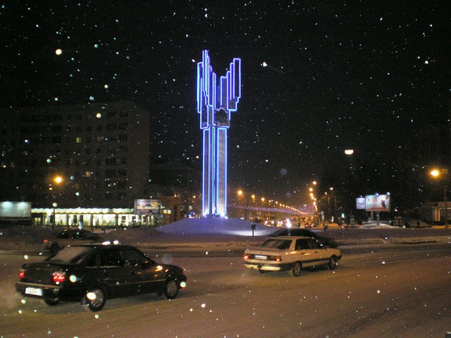 Сыктывкар, столица республики Коми.