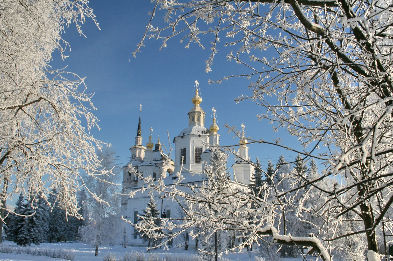 Новогодние каникулы в Великом Устюге