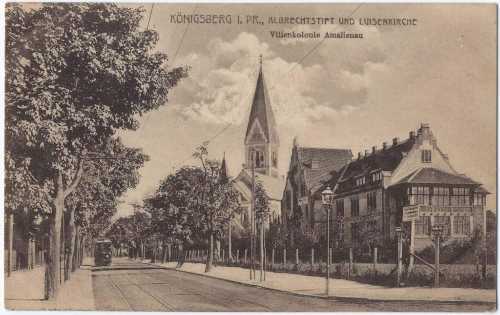 приют Альбрехта 1890-е годы (ныне Дом художника)